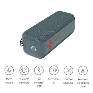POWER ACOUSTICS - GETONE 40 - Enceinte Nomade Bluetooth Compacte